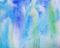 Abstract watercolor background on paper texture Stock Photo