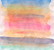 Abstract watercolor background on paper texture royalty free illustration
