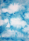 Abstract watercolor background on paper texture Royalty Free Stock Images