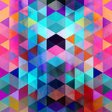 Abstract watercolor background polygon Stock Photos