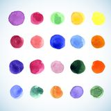 Abstract watercolor background Stock Image