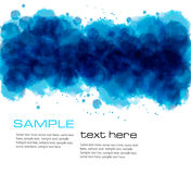 Abstract watercolor background. Vector Stock Photography