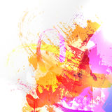 Abstract watercolor background. Abstract vector watercolor background. Colourful template illustration Stock Photos