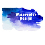 Abstract watercolor background. Vintage illustration. Hand drawn Stock Image