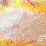 Abstract watercolor background. Abstract yellow watercolor grunge background Royalty Free Stock Photo
