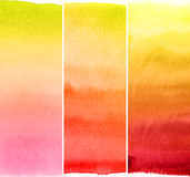 Abstract watercolor backgrounds stock illustration