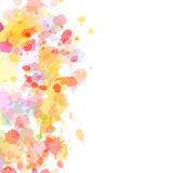 Abstract watercolor blobs background, Royalty Free Stock Photo