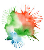 Abstract watercolor blot background Royalty Free Stock Photos