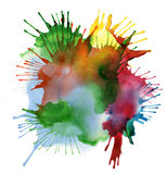Abstract watercolor blot background Royalty Free Stock Photo