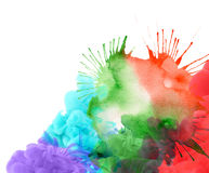 Abstract watercolor blot background Stock Image