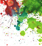 Abstract watercolor blot background. Abstract watercolor painting blot background Royalty Free Stock Images
