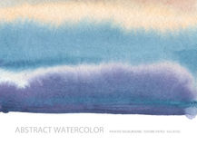 Abstract watercolor blot painted background. Texture paper. Isol. Ated. Business card template Royalty Free Stock Photo