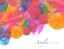 Abstract watercolor blot painted background. Texture paper. Isol Royalty Free Stock Image