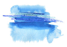 Abstract watercolor blot painted background. Texture paper. Isolated Royalty Free Stock Images