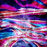 Abstract watercolor bright background with different wave elements. Abstract watercolor bright background with different colorful wave elements royalty free illustration