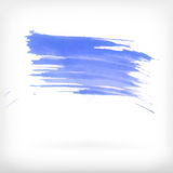 Abstract watercolor brush design elements Stock Photography