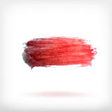 Abstract watercolor brush design elements Royalty Free Stock Photo