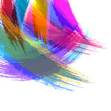 Abstract watercolor brush stroke background. Stock Image