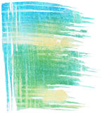 Abstract watercolor brush strokes background Royalty Free Stock Images