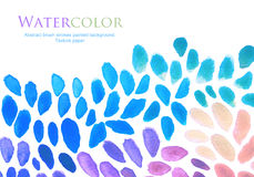 Abstract watercolor brush strokes painted background. Texture pa. Per Royalty Free Stock Photography