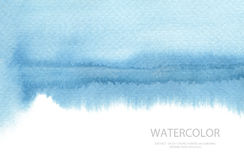 Abstract watercolor brush strokes painted background. Texture pa Royalty Free Stock Photo