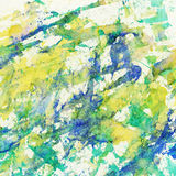 Abstract watercolor, brush strokes, splashes background Royalty Free Stock Photos