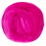Abstract watercolor circle painted background Stock Image