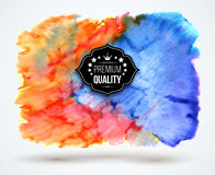 Abstract watercolor cloud Stock Images