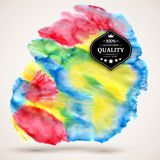Abstract watercolor cloud Royalty Free Stock Image