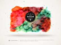 Abstract watercolor cloud Royalty Free Stock Images