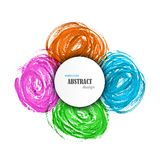 Abstract Watercolor Colorful Background. Stock Images