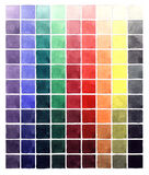 Abstract watercolor colorful gradient squares Royalty Free Stock Photography