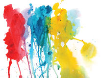 Abstract watercolor composition. Vector format Royalty Free Stock Photos