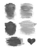 Abstract Watercolor design elements. Textured Water cloud Ink is Stock Photography