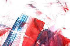 Abstract watercolor drawing Stock Image