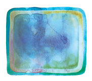 Abstract watercolor element Royalty Free Stock Photography