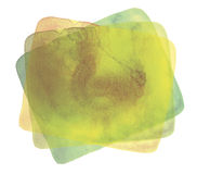 Abstract watercolor element Stock Photography
