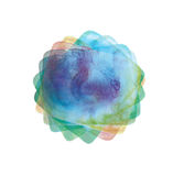 Abstract watercolor element Stock Image
