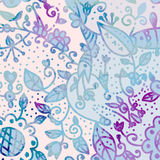 Abstract watercolor floral background Stock Photo