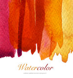 Abstract watercolor flow down painted background. Textured Royalty Free Stock Images