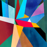 Abstract Watercolor Geometric Background Royalty Free Stock Images