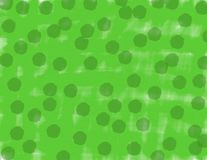 Abstract watercolor green background with dark green spots stock illustration