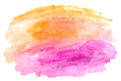 Abstract watercolor  hand paint on white background Royalty Free Stock Photography