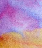 Abstract watercolor hand painted Royalty Free Stock Images