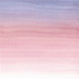 Abstract watercolor hand painted background. Serenity and Rose Quartz Tint Watercolour Texture Gradient. Pastel Colored Palette Royalty Free Stock Photo