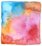 Abstract watercolor hand painted background. Royalty Free Stock Photography