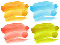 Abstract watercolor hand painted background. Royalty Free Stock Photos