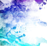 Abstract watercolor illustration Royalty Free Stock Images