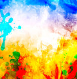Abstract watercolor illustration Stock Photos