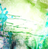 Abstract watercolor illustration Royalty Free Stock Photo